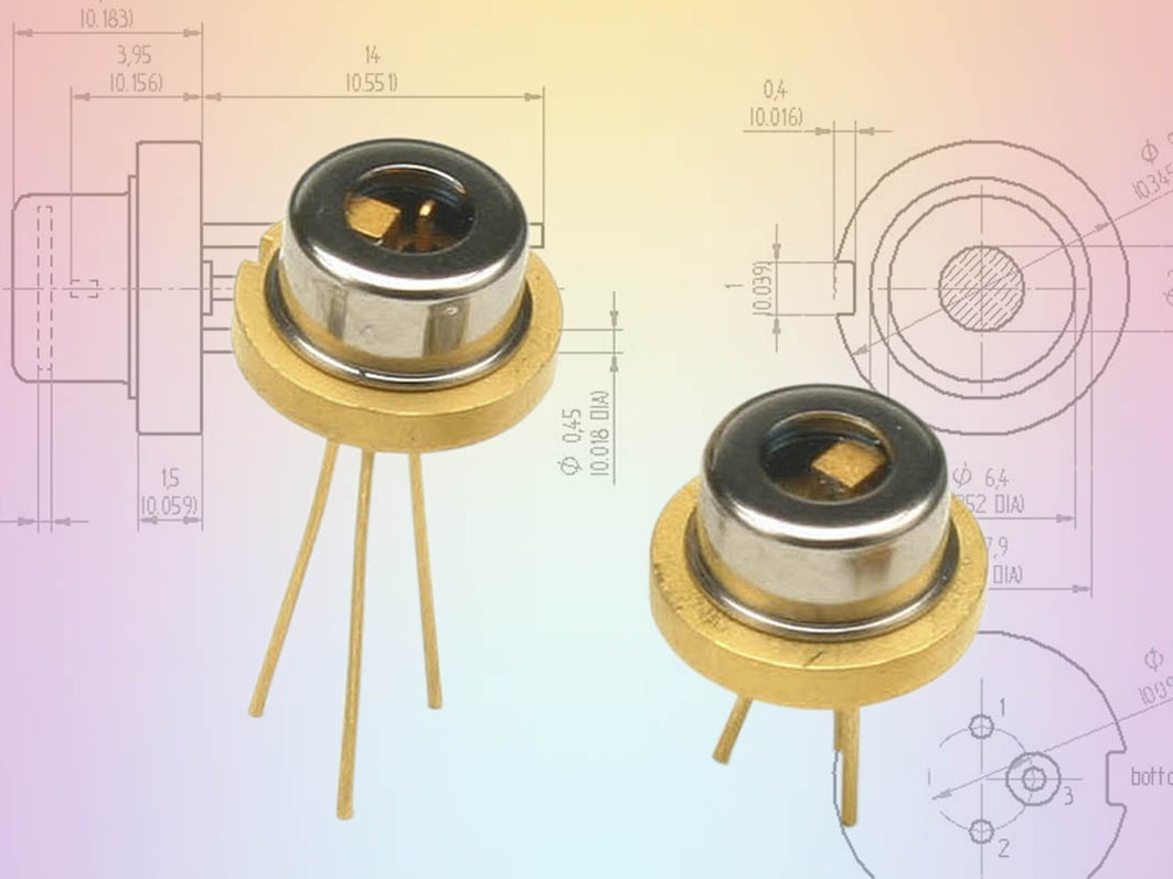 High Power Cw Laser Diodes 808 Nm 1000 Mw