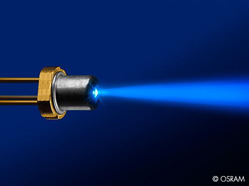 OSRAM Develops Laser Diodes for Automotive Lighting