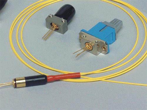 VCSEL with Fiber Connection - LED and VCSEL